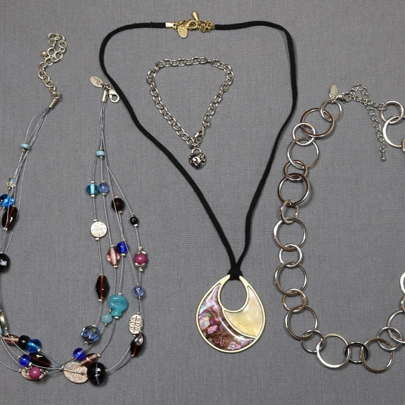 Vintage costume jewelry     LIA  SOPHIA necklace and bracelet